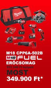 Milwaukee M18 CPP6A-502B erőcsomag akció