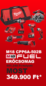 Milwaukee M18 CPP6A-502B fuel er�csomag akci�